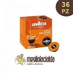 36 capsule Lavazza originali a Modo Mio aroma Delizioso