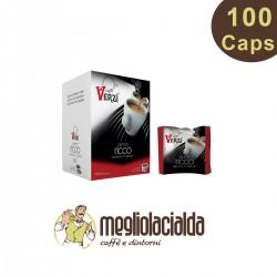100 Capsule Caffè Verzì Ricco A Modo Mio