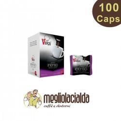 100 capsule Caffè Verzì intenso Lavazza A Modo Mio