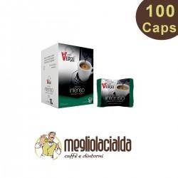 100 capsule Verzì Aroma Intenso compatibili Uno System