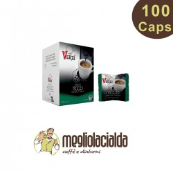 100 capsule Verzì aroma Ricco compatibile Uno System