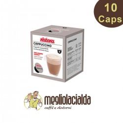 10 capsule Ristora Dolce Gusto cappuccino