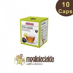 10 capsule The al limone zuccherato Ristora Dolce Gusto in capsule