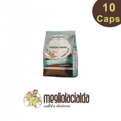 10 capsule Ginseng amaro Bialetti solubili Barbaro