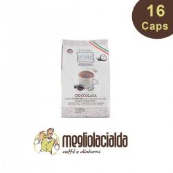 16 capsule Gattopardo cioccolato compatibile A Modo Mio