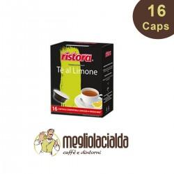 16 capsule The al limone zuccherato Ristora a Modo Mio