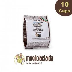 10 capsule Cioccolato Gattorpardo compatibile Nespresso