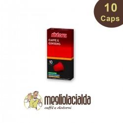 10 capsule Ristora ginseng zuccherato Nespresso