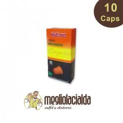 10 capsule Orzo biologico Ristora Nespresso in capsule