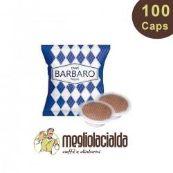 100 capsule Caffe Barbaro Cremoso compatibile Bialetti