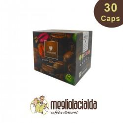 30 capsule Lollo Caffè aroma Ginseng compatibili Uno System