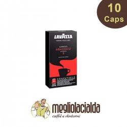 10 capsule Lavazza Nespresso Armonico