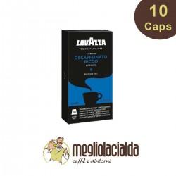 Decaffeinato Ricco Lavazza Nespresso 10 capsule