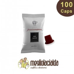 100 cialde Lollo Miscela Nera compatibile Nespresso