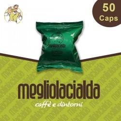 50 capsule Megliolacialda Decaffeinato compatibile Bialetti