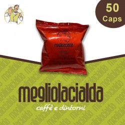 50 capsule Megliolacialda intenso a Modo Mio