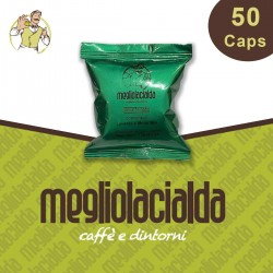50 capsule Megliolacialda decaffeinato a Modo Mio