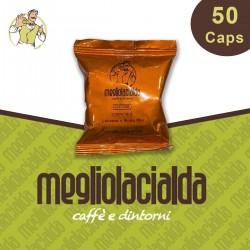 50 capsule Megliolacialda Cremoso A Modo Mio