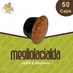50 capsule Megliolacialda Cremoso Dolce Gusto
