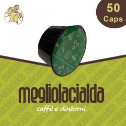 50 capsule Megliolacialda decaffeinato Dolce Gusto