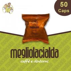 50 capsule Megliolacialda Cremoso Nespresso