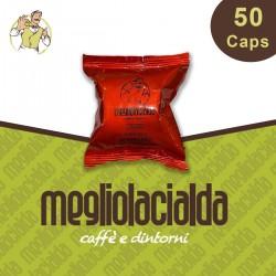 50 capsule Megliolacialda Intenso Nespresso