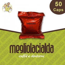 50 capsule Megliolacialda Intenso compatibili Uno System