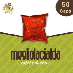 50 capsule Megliolacialda aroma Intenso Espresso Point