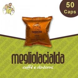 50 capsule Megliolacialda Cremoso Espresso Point