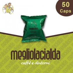 50 capsule Megliolacialda Decaffeinato compatibile Espresso Point