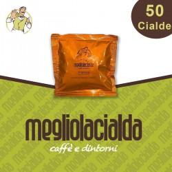 50 cialde Megliolacialda Cremoso, filtro carta ESE 44 mm