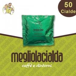 50 cialde Megliolacialda Decaffeinato ESE 44 mm