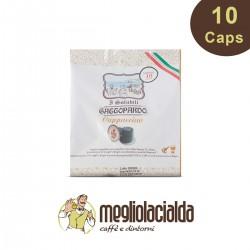 10 capsule Cappuccino Gattopardo Nespresso