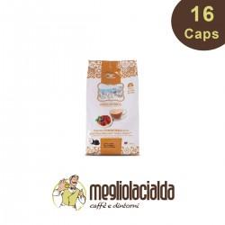 16 capsule Crème brulée Gattopardo compatibile Dolce Gusto