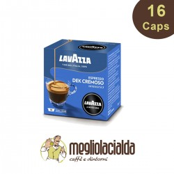 16 capsule Lavazza  Dek Cremoso A Modo Mio