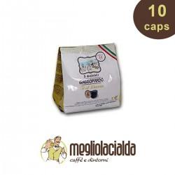 10 capsule Thè al limone Gattopardo Nespresso