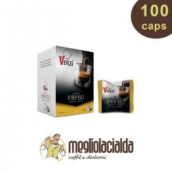 100 Capsule Verzì intenso compatibile Bialetti