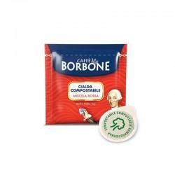 150 Cialde Borbone caffè Miscela Rossa filtro carta 44 mm ESE