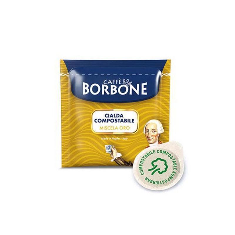 150 Cialde Borbone caffè miscela Oro in filtro carta ESE 44 mm