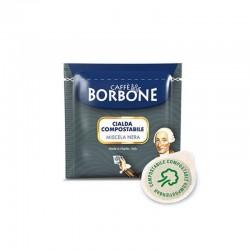 150 Cialde Borbone caffè Miscela Nera in filtro carta 44 mm ESE
