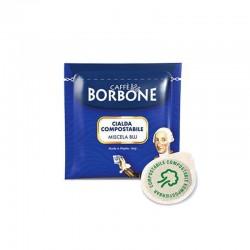 150 Cialde caffè Borbone miscela Blu in filtro carta 44 mm ese