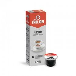 Caffe cagliari silver Caffitaly capsule confezione da 10pz