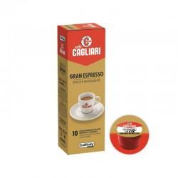 Cagliari Gran Espresso dolce e avvolgente capsule