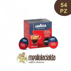 54 capsule Lavazza originali A Modo Mio aroma Crema e Gusto